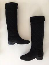 Bottes Cavalières Matellassées Chanel Taille 36 - Boots