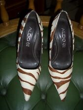 STUNNING RARE ALDO ZEBRA STYLE HIGH HEEL SHOES BRAND NEW SIZE 3 36 RRP £100