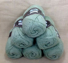 Dark Horse Yarns Fantasy Celery Color 3 Dye Lot 2003 New Green Lot Of 6