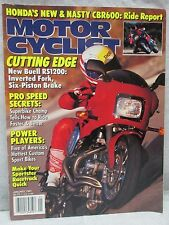 Vtg Motor Cyclist Motorcyclist Magazine January 1992 Buell Rs1200 Motorcycle #2