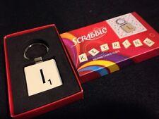 Scrabble Letter Tile Key Ring Letter I Hasbro NEW Wild & Wolf Keychain Keyring