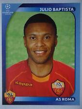 Panini 465 Julio Baptista AS Roma UEFA CL 2008/09