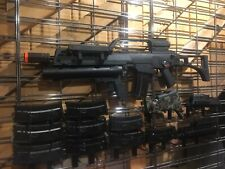 Airsoft Upgraded Custom WE Tech DMR G36/G39 Gas Blowback Rifle w/ Extras 500FPS