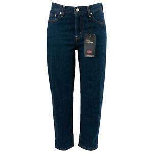 LEVI'S Damen Jeans 526920005 Loose Taper Crop Dunkelblau / W25 (W26) / Hose