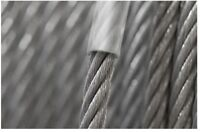 2 3 4 5 6 7 8 10mm Steel Clear PVC Plastic Coated Wire Rope Boat Galvanized Zinc