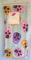 Luv Betsey Skulls Ultra Soft Plush Decorative Throw Blanket 50/60 Colorful