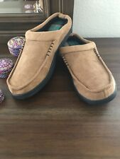 URBAN PIPELINE MEN'S WINTER WARM INDOOR SLIPPER TAN SIZE L 10-11 NEW WITHOUT BOX