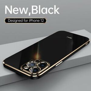 Hülle für iPhone 12 Pro Max 11 X XS XR 7 8 SE 2 Plating Handy Schutz Case Cover
