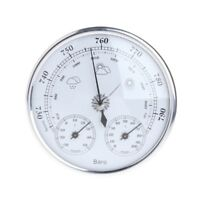 Household Weather Barometer Station Thermometer Hygrometer Wall Hanging