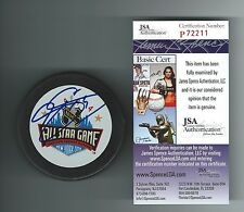 JOE SAKIC SIGNED 1994 ALL STAR GAME PUCK COLORADO AVALANCHE JSA AUTHENTICATED
