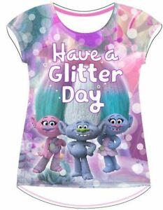 Trolls Mädchen kurzarm T-Shirt