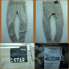 G-Star Raw Arc 3D Slim COJ Men Jeans Beige sz 30 x 32
