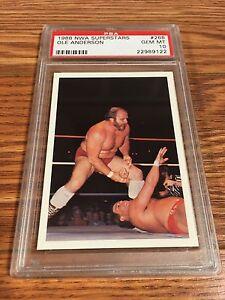 1988 Wonderama NWA Supercards Ole Anderson Wrestling Card PSA 10 WWE WCW WWF AWA