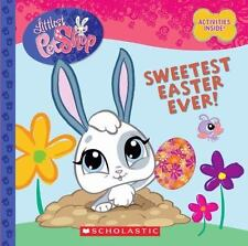 Littlest Pet Shop ~ Sweetest Easter Ever! HC Book w Activities Inside ~ NEW