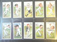 "1926 John Player CRICKET CHARACTERS BY ""RIP"" set 50 cards Tobacco Cigarette"