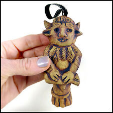 Cheeky Lincoln Imp Hanger With Tail Decoration by Zoo Ceramics - Cord/Light Pull
