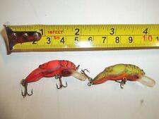 vint 00006000 age Rebel Craw Crawfish crankbait fishing lure pike musky bass boat bait