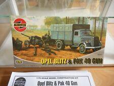 Modelkit Airfix Opel Blitz & Pak 40 Gun on 1:76 in Box