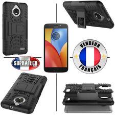 Coque de Protection Noir Rigide Renforcé Anti-Choc pour Motorola E4 Plus +