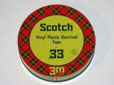 Vintage 1950s SCOTCH ELECTRICAL TAPE No. 33 Advertising Tin! Minnesota Mining!