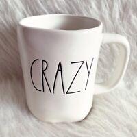 Rae Dunn Crazy Mug LL Ivory Pottery Clay Farmhouse