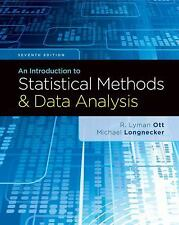 An Introduction to Statistical Methods and Data Analysis 7th Edition Ott and L..
