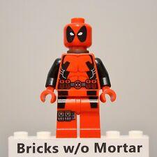 New Genuine LEGO Deadpool Minifig Marvel Super Heroes 6866