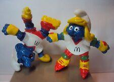 Werbeschlümpfe Rollerscateschlumpfinchen/Schlumpf 4.0240 Mc Donald's 98 gebrauch