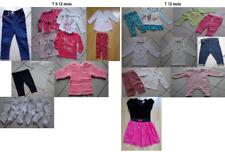 Lot vêtement bébé fille T 9 mois - T 12 mois - 1 an (NEUF et OCCAS)