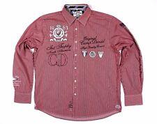 CAMP DAVID Original Regular Fit Men's Shirt Herren Hemd Gr. XL Rot SUPER