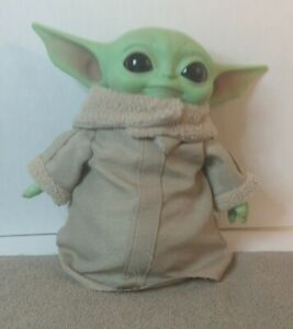 "Star Wars Mandalorian The Child 11"" Plush Baby Yoda Doll | Mattel"