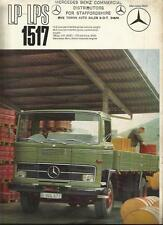MERCEDES BENZ LP LPS 1517 TRUCK LORRY SALES BROCHURE 1968 1969