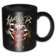 SLAYER Mug Tazza Skull Clench OFFICIAL MERCHANDISE