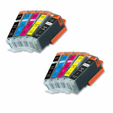 10 PK Printer Ink chipped for PGI-250XL CLI-251XL Canon MG5522 MG5622 MG6622