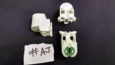 6 x T8 T12 Medium Bi Pin to T5 Lamp Holder Slide On Fit Stucci 285Z Light #AJ