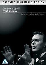 AN EVENING WITH MATT MONRO - DIGITALLY REMASTERED - DVD - REGION 2 UK