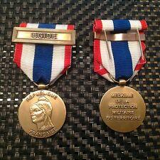 Decoration, Medaille Protection Militaire du territoire  avec Agrafe Edige