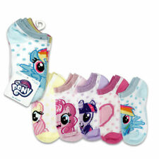 My Little Pony Girls Kids 5 Pair No Show Socks Size 6-8.5 Shoes 7.5-3.5 NEW