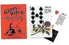 Gypsy Witch Fortune Telling 50 Card Deck