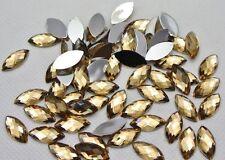 250 x High Quality Marquise / Cat Eye Rhinestone Gems Bead -  ~BUY 3 GET 1 FREE~