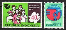 Indonesia - 1975 Women's Year - Mi. 810-11 MNH