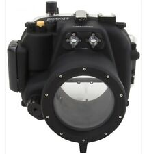 Polaroid Dive Rated Waterproof Underwater Case Sony Alpha NEX-5R 18-55mm Lens