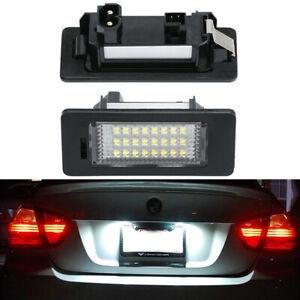 Error Free White LED License Plate Light Bulb For BMW E90 E92 E39 E60 E61 M5 E70