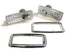 MERCEDES 190 W201 W202 W124 W140 SL R129 CRYSTAL JEWEL SIDE REPEATERS INDICATORS