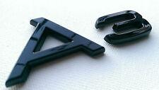 AUDI A3 REAR BADGE CUSTOM BLACK GLOSS A3 S3 RS3 TDI S LINE TFSI BLACK EDITION