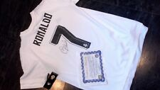 Cristiano Ronaldo. Real Madrid Shirt .XL. Autographed.New.Official. Certificate