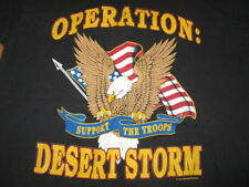 "1991 OPERATION: DESERT STORM - PERSIAN GULF ""EAGLE"" (XL) T-Shirt"