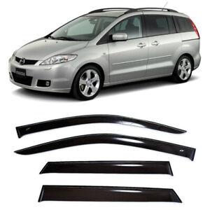 For Mazda 5 I 2005-2010 Window Side Visors Sun Rain Guard Vent Deflectors