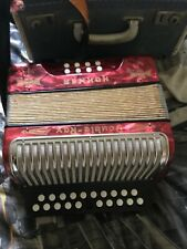 More details for hohner double ray accordian in carry case