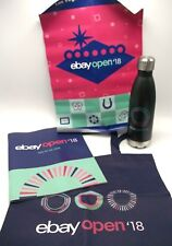 Ebay Open 2018 Swag Water Bottle Bag Program Poster